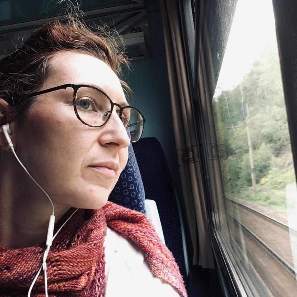 Meditace vlakem